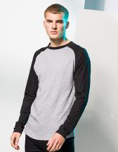 Men`s Long Sleeved Baseball T